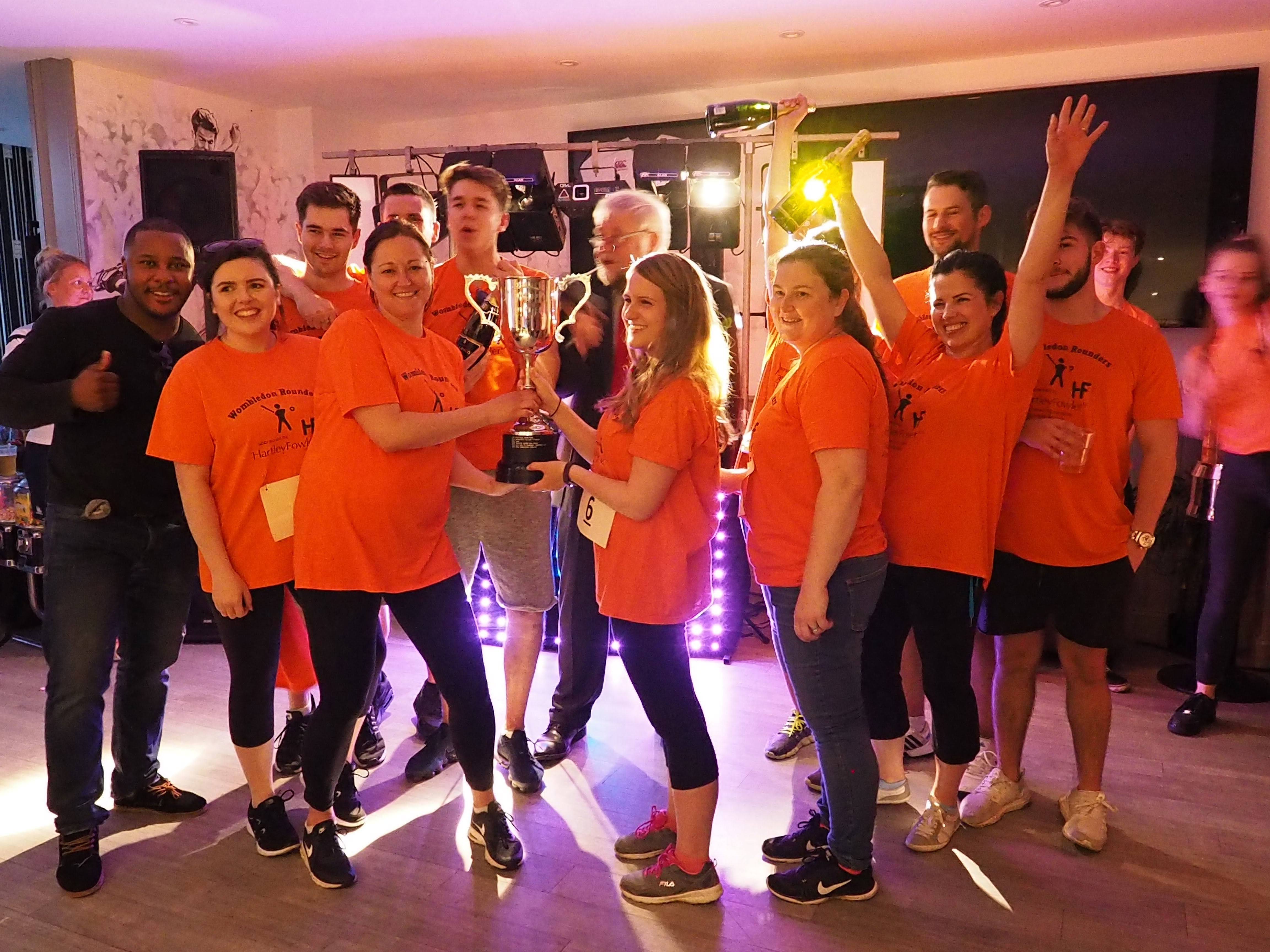 Wombledon Rounders Winners
